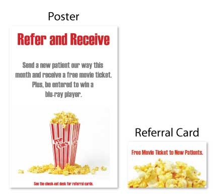 Movie & Popcorn Referral Booster