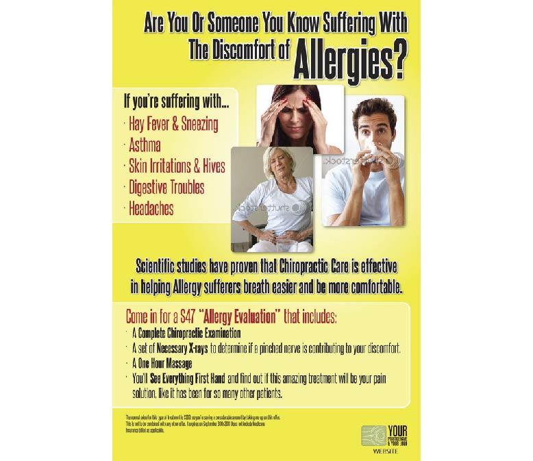 Allergy Educational Poster