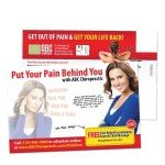 chiropractic marketing, special offers, chiropractic postcards, chiropractic posters, valentines